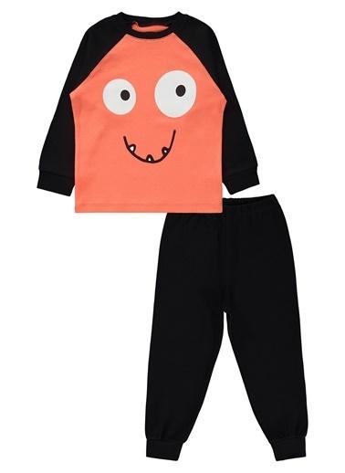 Civil Boys Erkek Çocuk Pijama Takımı Siyah